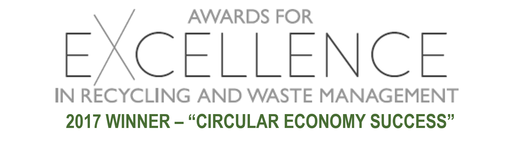 Award for Excellence in Circular Economy Success