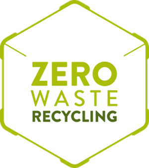 Zero Waste Recycling Logo